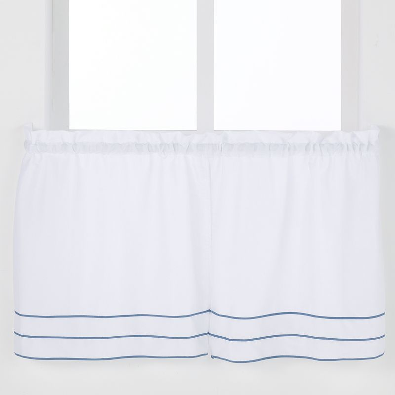 Saturday Knight, Ltd. Anna Pleated Tier 2-pk. Curtains
