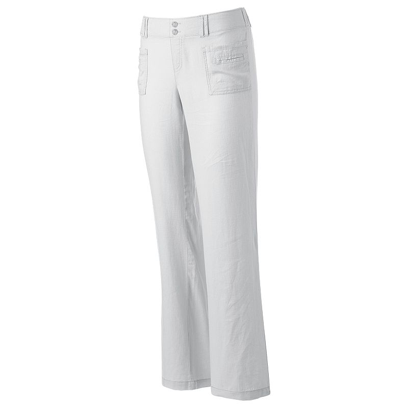 Juniors' SO® Linen Beach Pants