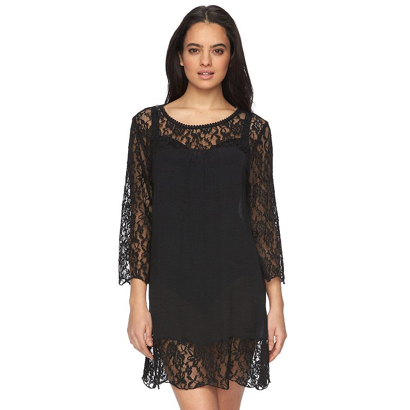 Women's Portocruz Lace-Trim Cover-Up