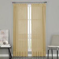 Curtainworks Soho Sheer Voile Pinch-Pleat Curtain