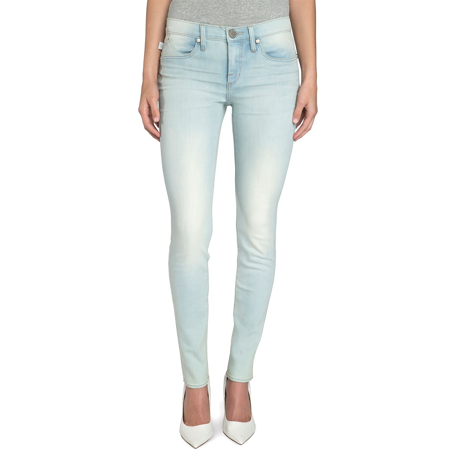Womens Rock & Republic? Berlin Acid-Wash Skinny Jeans