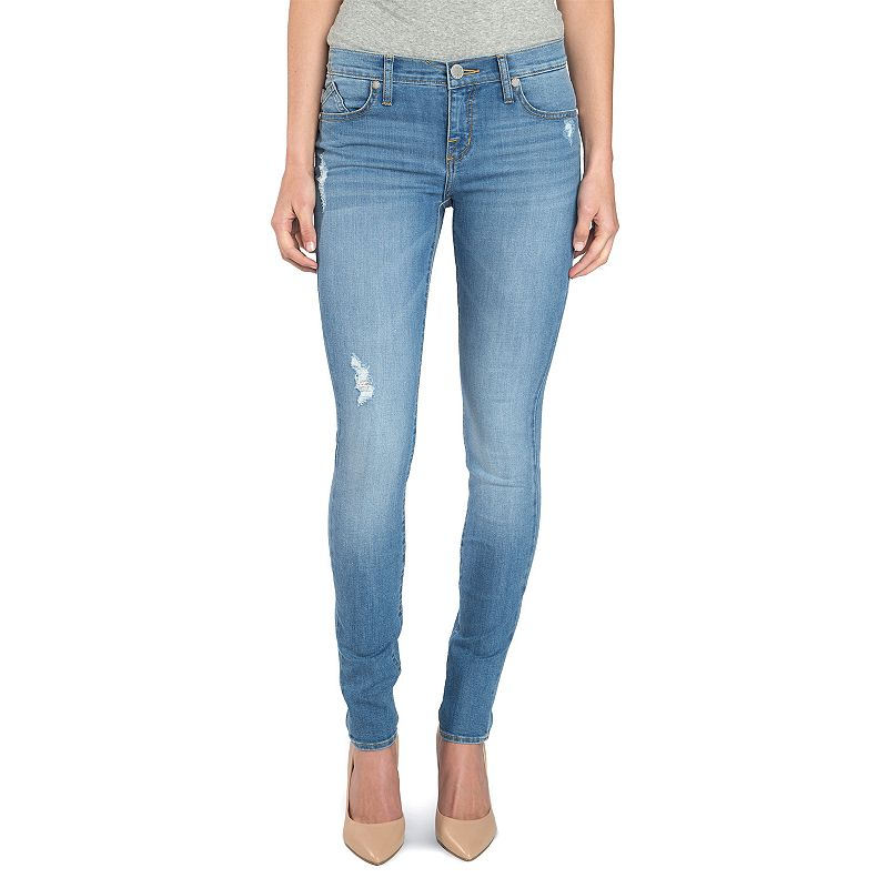 Women's Rock & Republic® Berlin Embossed Skinny Jeans