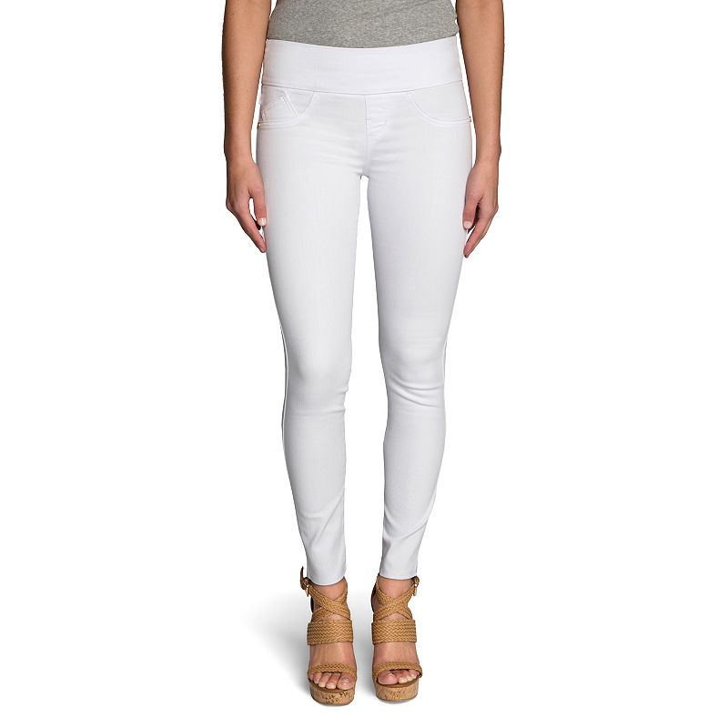 Women's Rock & Republic® Fever White Jean Leggings