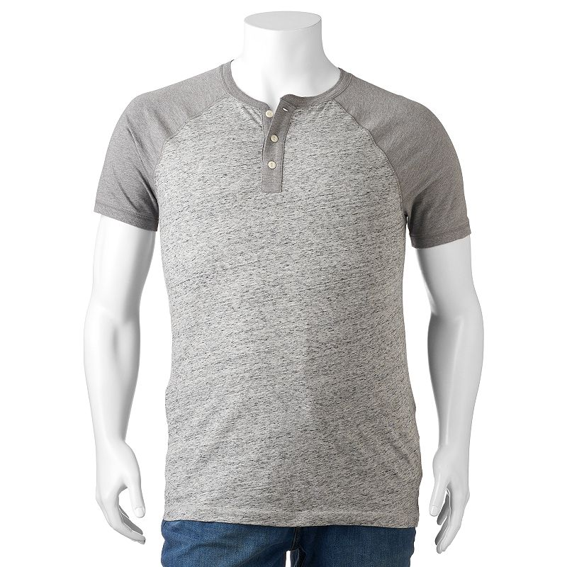 Big & Tall SONOMA Goods for Life™ Fashion Henley