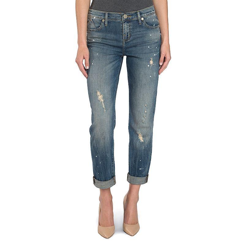 Women's Rock & Republic® Splatter Boyfriend Jeans