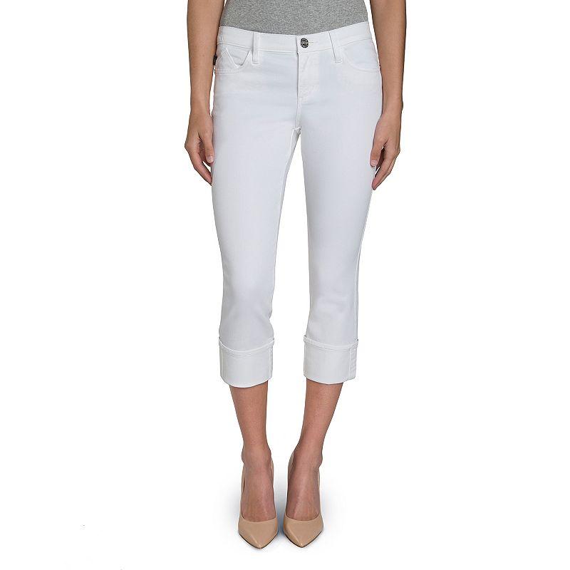 Women's Rock & Republic® Kendall White Capri Jeans