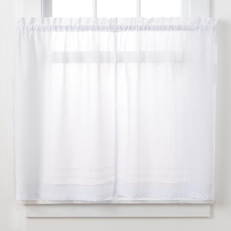 CHF Crochet 2-pk. Tier Curtains