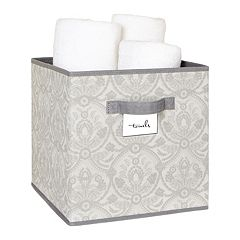 Laura Ashley Non-Woven Cube Storage Box