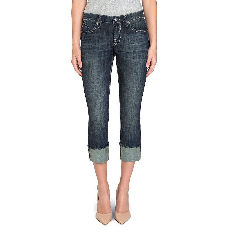 Women's Rock & Republic® Kendall Embroidered Capri Jeans
