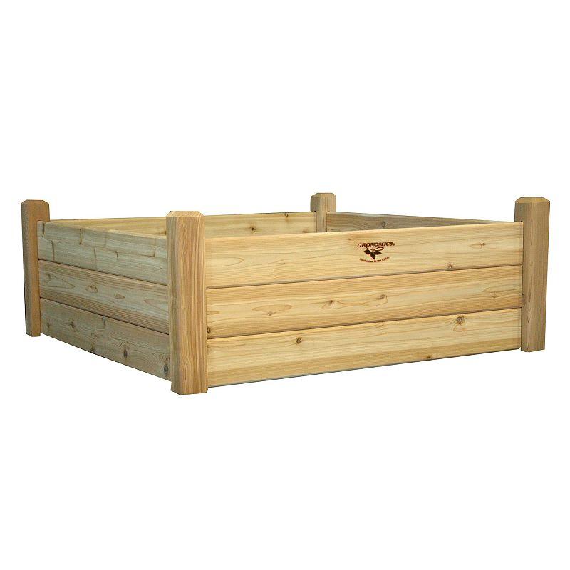 Gronomics Raised Garden Bed - 48'' x 48'' x 19''