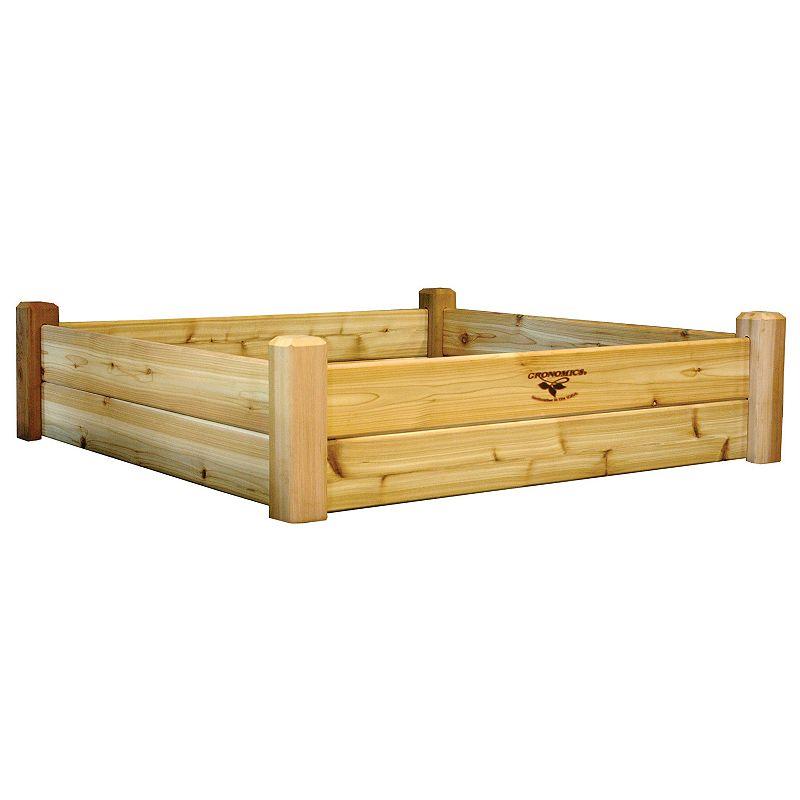 Gronomics Raised Garden Bed - 48'' x 48'' x 13''