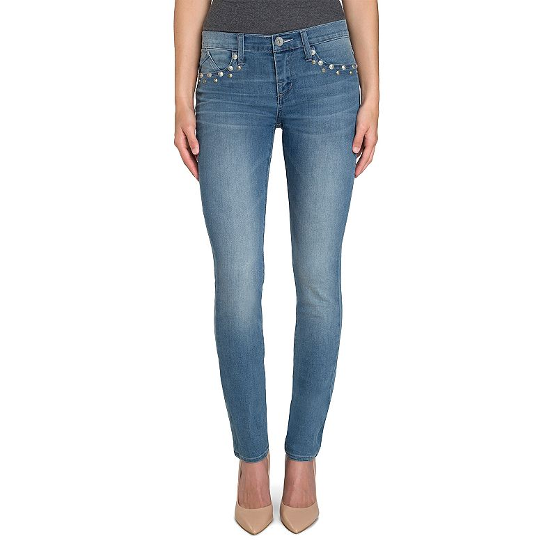 Women's Rock & Republic® Berlin Embellished Skinny Jeans