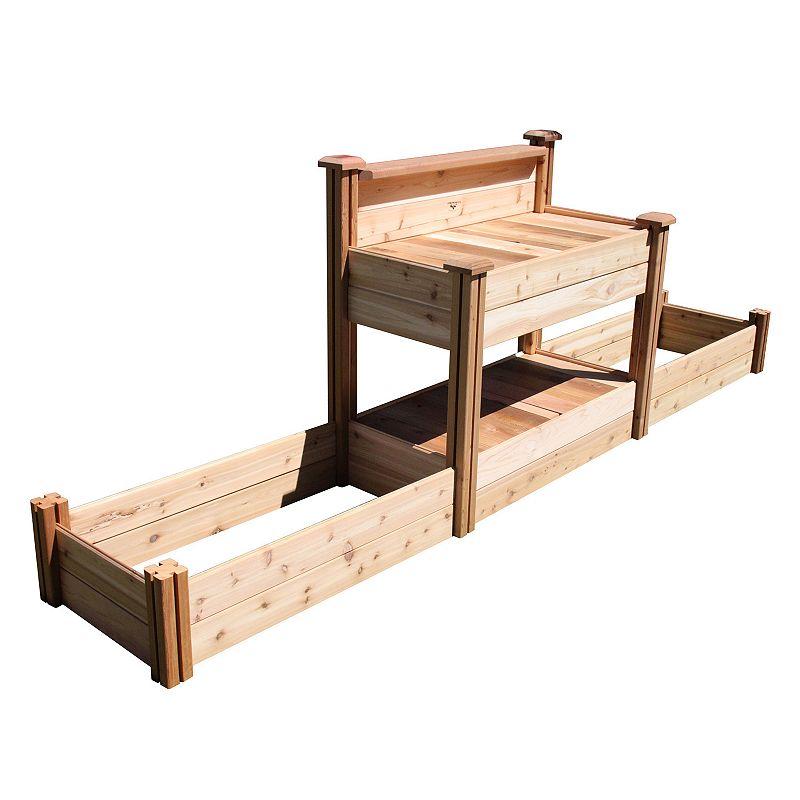 Gronomics Potting Bench & Raised Garden Beds
