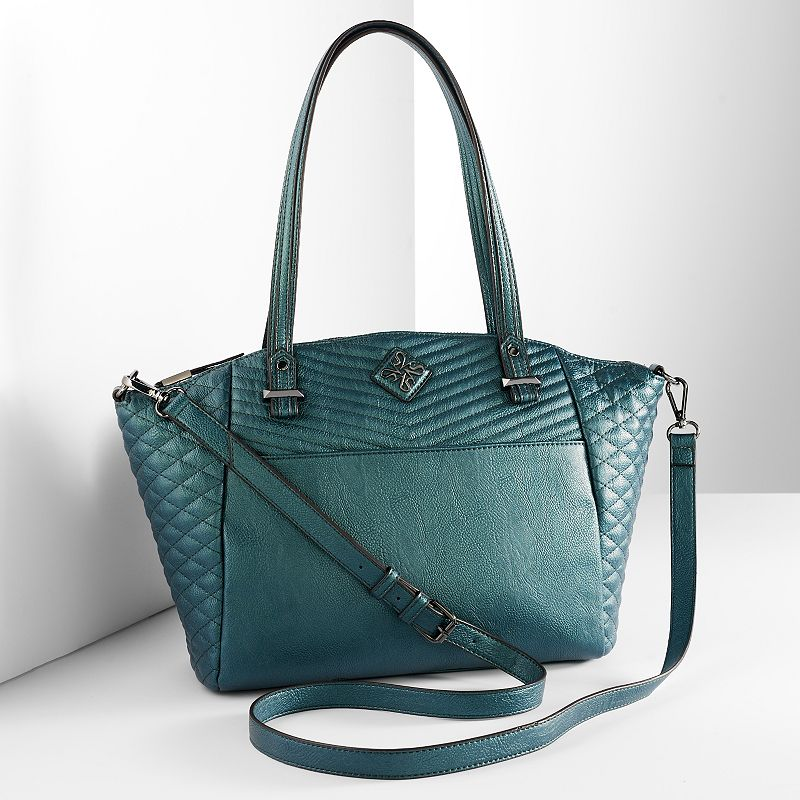 Simply Vera Vera Wang Kentwood Quilted Tote