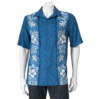 Big & Tall Batik Bay Tropical Casual Button-Down Shirt