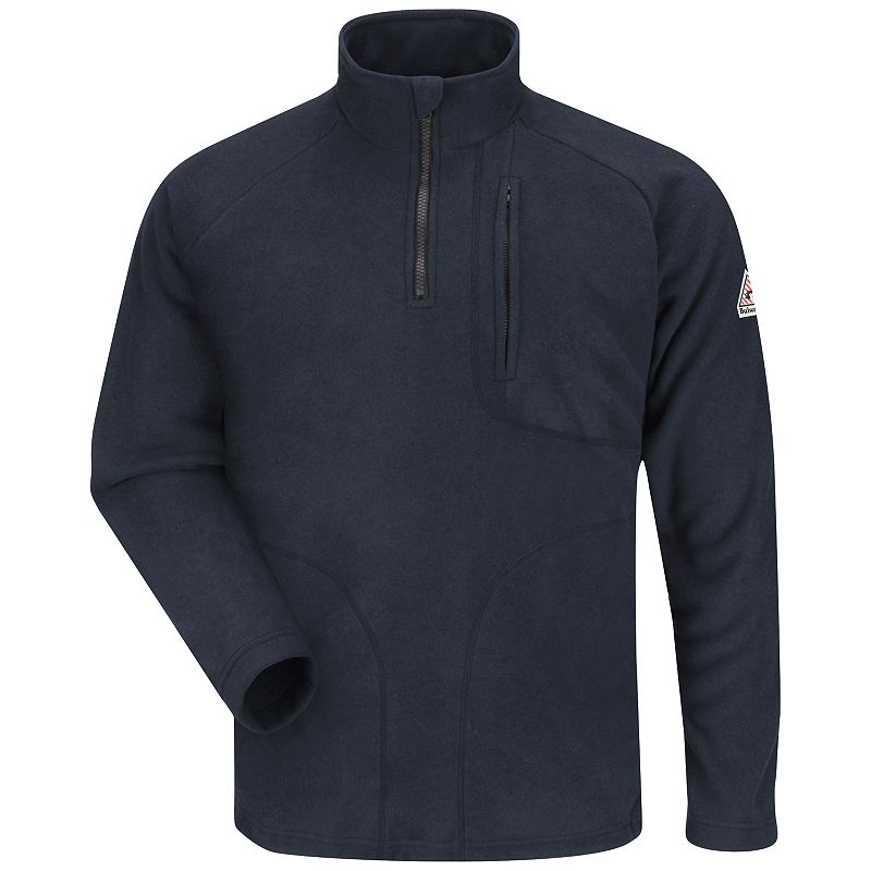 Men's Bulwark FR 1/4 Zip Fleece Sweatshirt