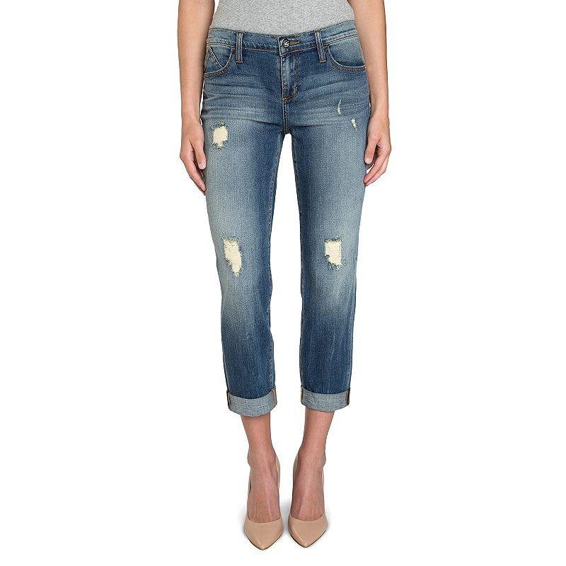 Women's Rock & Republic® Indee Ripped Slim-Fit Boyfriend Jeans