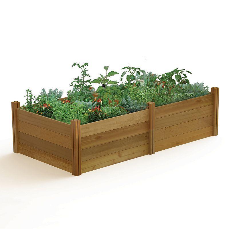 Gronomics 4-pc. Modular Raised Garden Bed