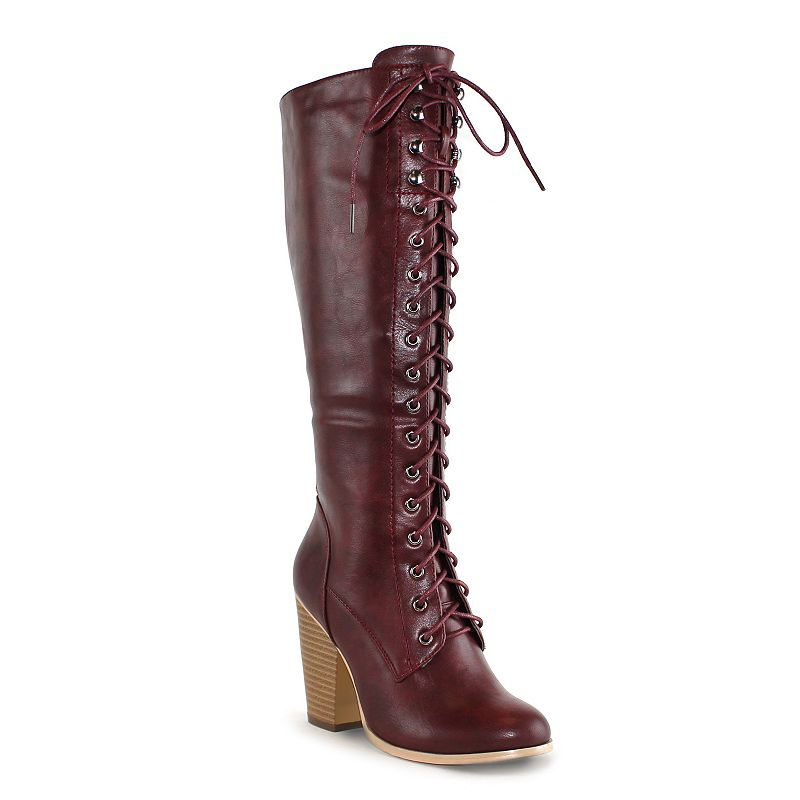 Olivia Miller Stanton Women's Lace-Up Boots