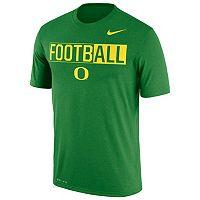 Men's Nike Oregon Ducks Dri-FIT Football Tee