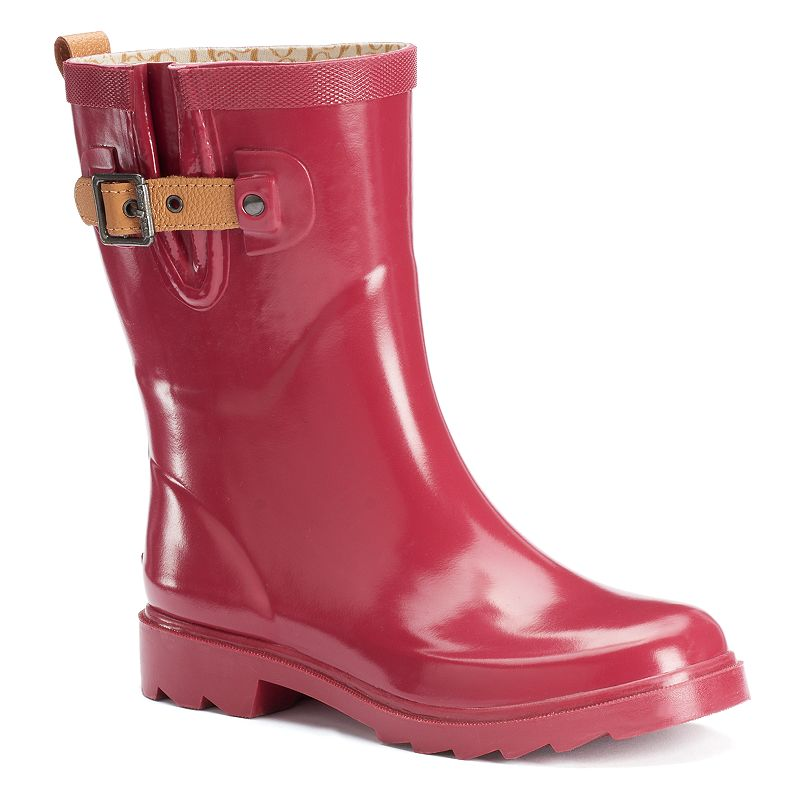 Chooka Solid Women's Waterproof Rain Boots