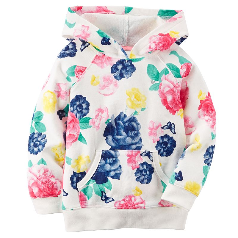 Baby Girl Carter's French Terry Hoodie