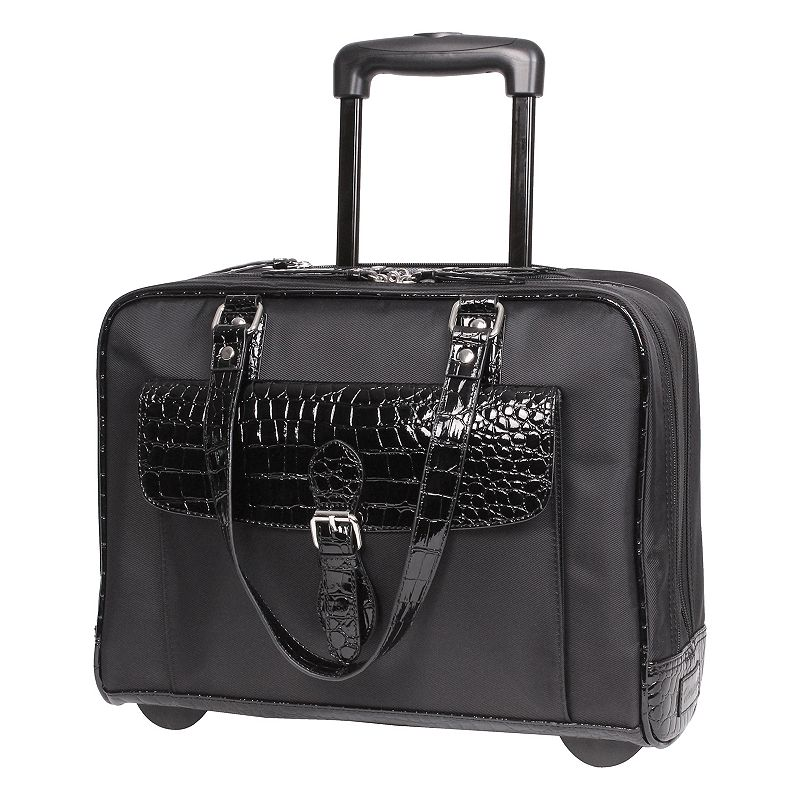 Heritage 16-Inch Wheeled Laptop Tote