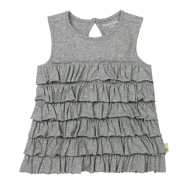 Toddler Girl Burt's Bees Baby Ruffled Tank