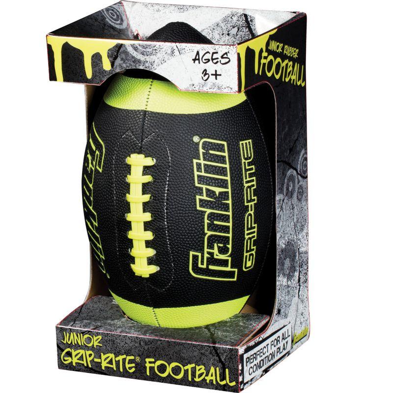 Franklin Sports Black Junior Grip-Rite Football thumbnail