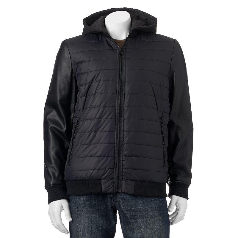 Men's Levi's Puffer Hoodie Jacket