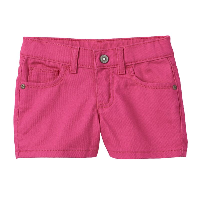 Girls 4-7 SONOMA Goods for Life™ Pink Denim Shorts