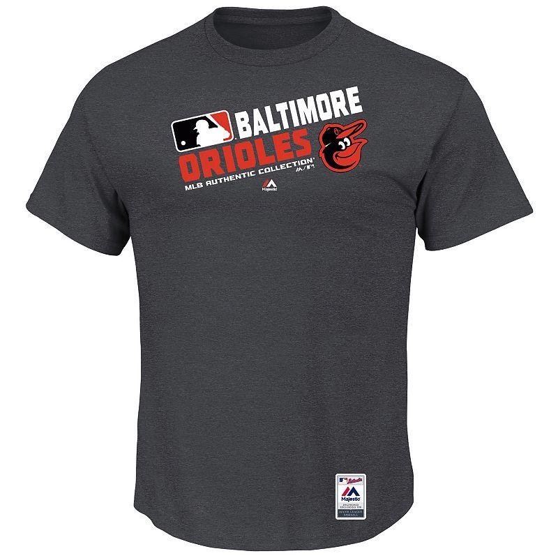 Men's Majestic Baltimore Orioles AC Team Choice Tee