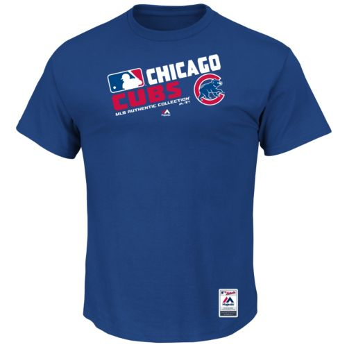 Men's Majestic Chicago Cubs AC Team Choice Tee