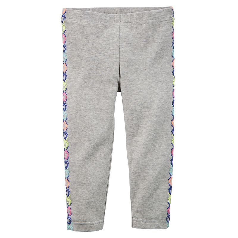 Baby Girl Carter's Printed Capri Leggings