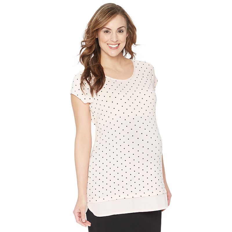 Maternity Oh Baby by Motherhood™ Print Tunic