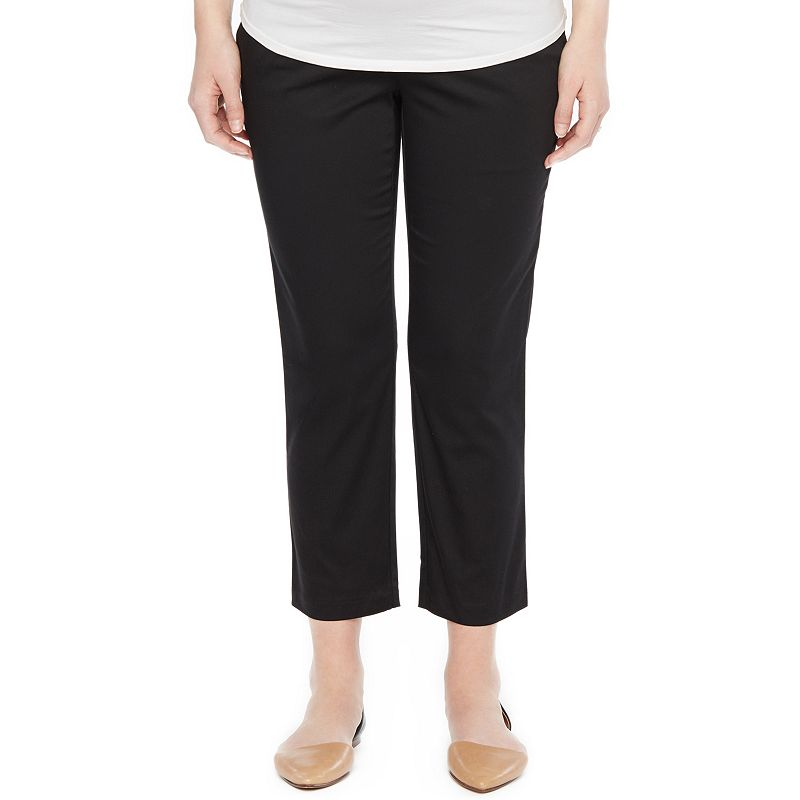 Maternity Oh Baby by Motherhood™ Secret Fit Belly™ Slim Ankle Pants