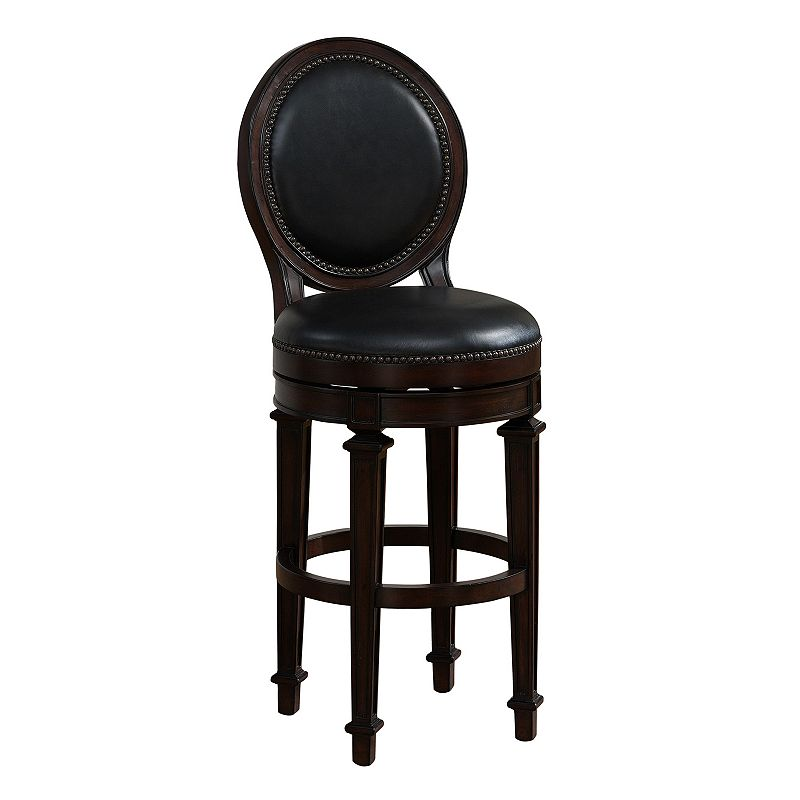 American Heritage Billiards Barrett Swivel Counter Stool