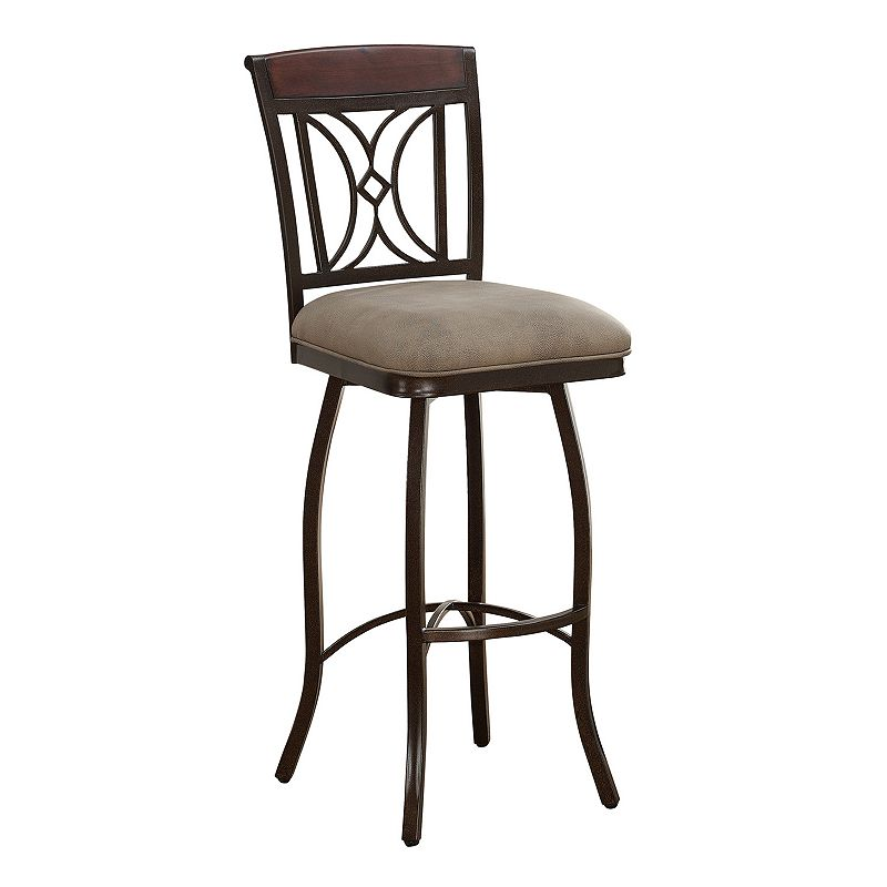 American Heritage Billiards Eden Swivel Counter Stool