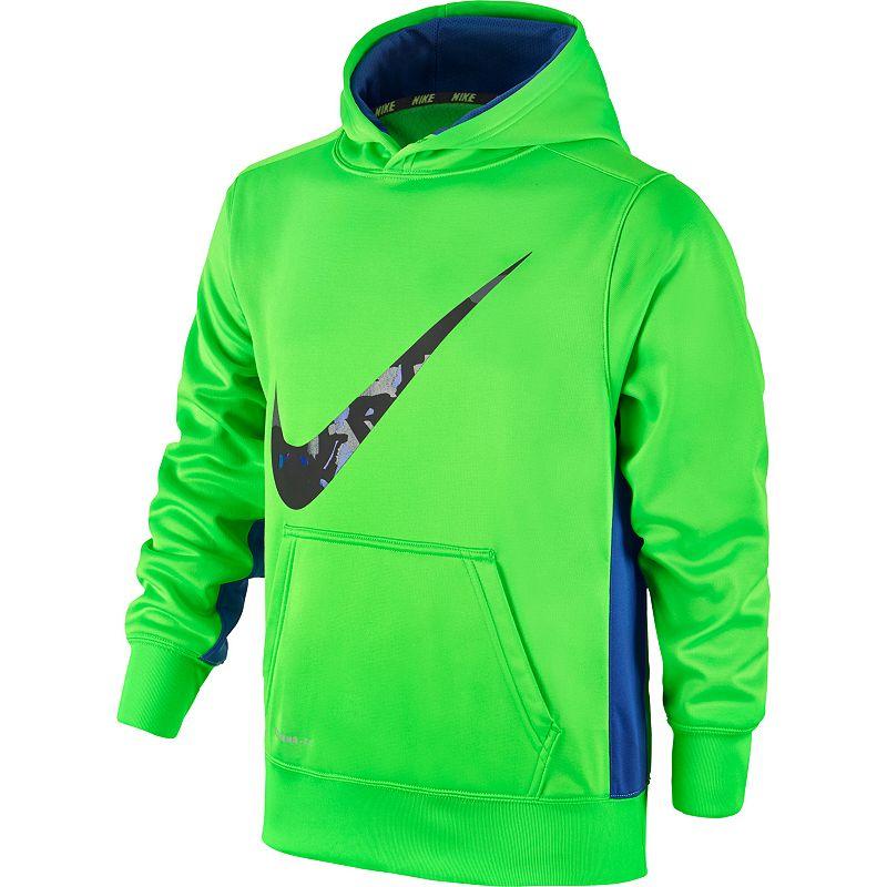 Boys 8-20 Nike Therma-FIT KO 3.0 Camouflage Swoosh Hoodie