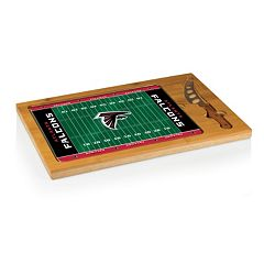 Picnic Time Atlanta Falcons Cutting Board Serving Tray