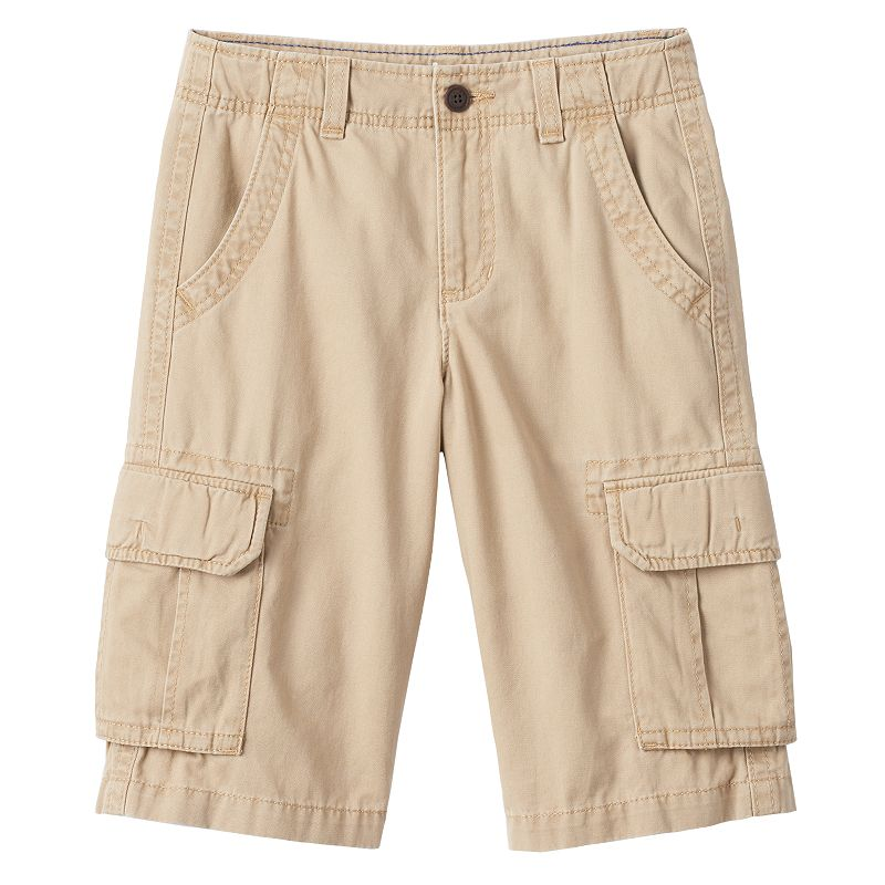 Boys 8-20 Urban Pipeline® Twill Messenger Cargo Shorts