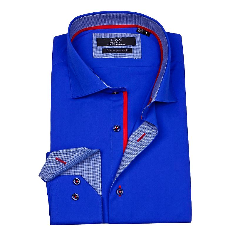Men's LVS by Levinas Modern-Fit Solid Shirt