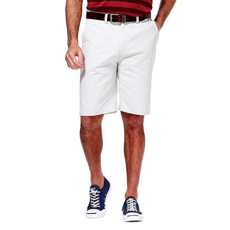 Men's Haggar Flat-Front Twill Shorts