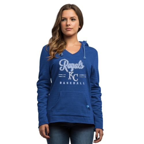 Women's Majestic Kansas City Royals Chase the Dream Hoodie