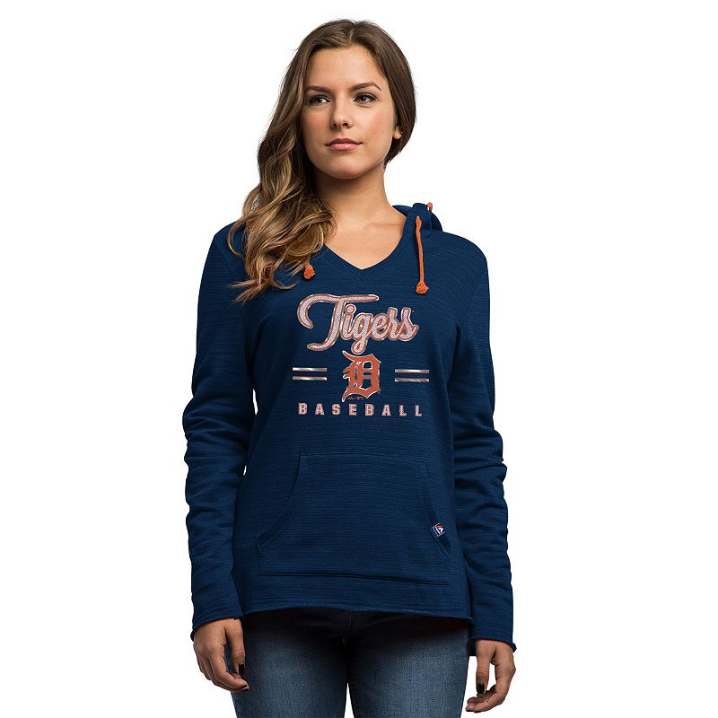 Women's Majestic Detroit Tigers Chase the Dream Hoodie