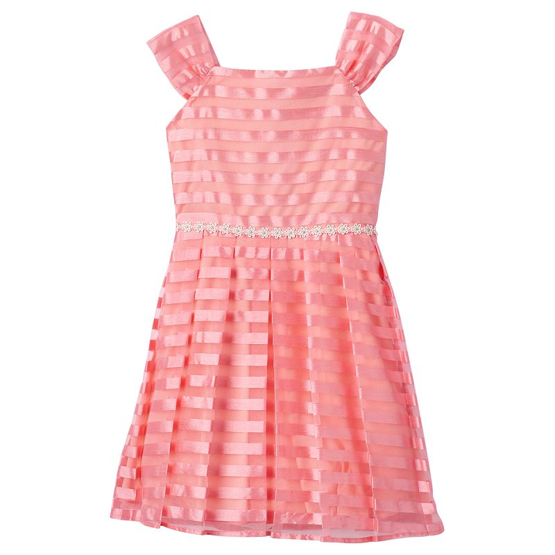Girls 7-16 Speechless Striped Dress