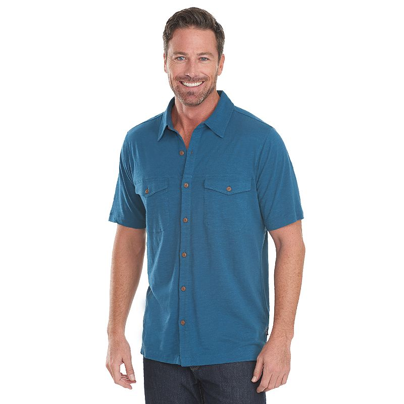 Men's Woolrich Sunstone Modern-Fit Casual Button-Down Shirt