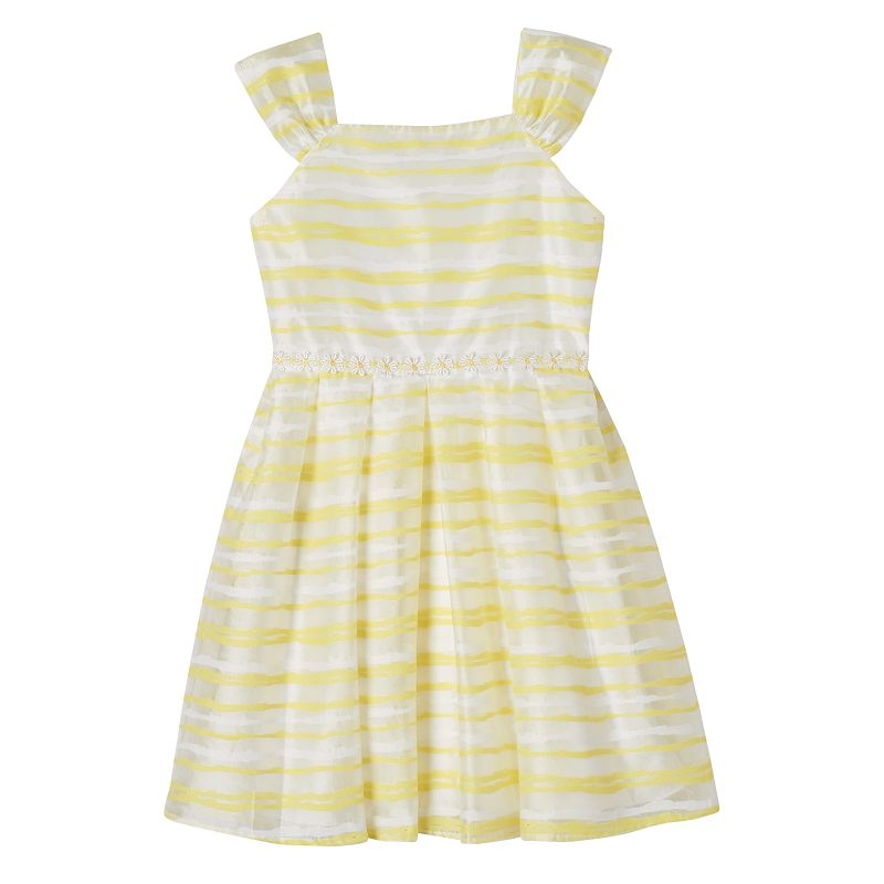 Girls 7-16 Speechless Shadow Striped Dress
