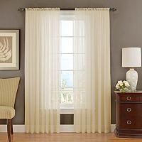Vue Signature Textured Chiffon Sheer Curtain