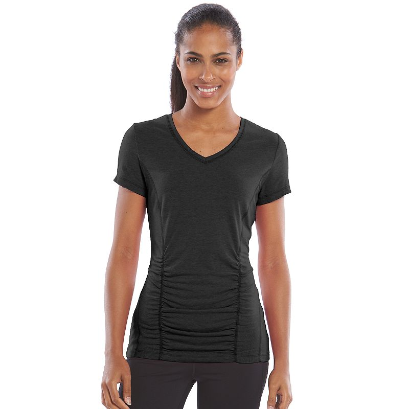 Women's Tek Gear® Shirred Workout Tee
